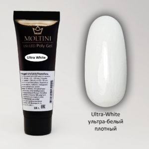 Полигель Moltini Ultra White, 18 гр