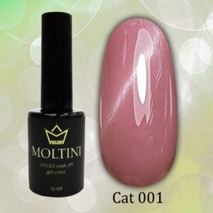 Гель-лак Moltini Cat Eye 001, 12 ml