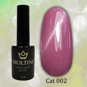 Гель-лак Moltini Cat Eye 002, 12 ml