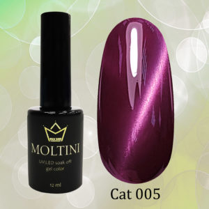 Гель-лак Moltini Cat Eye 005, 12 ml