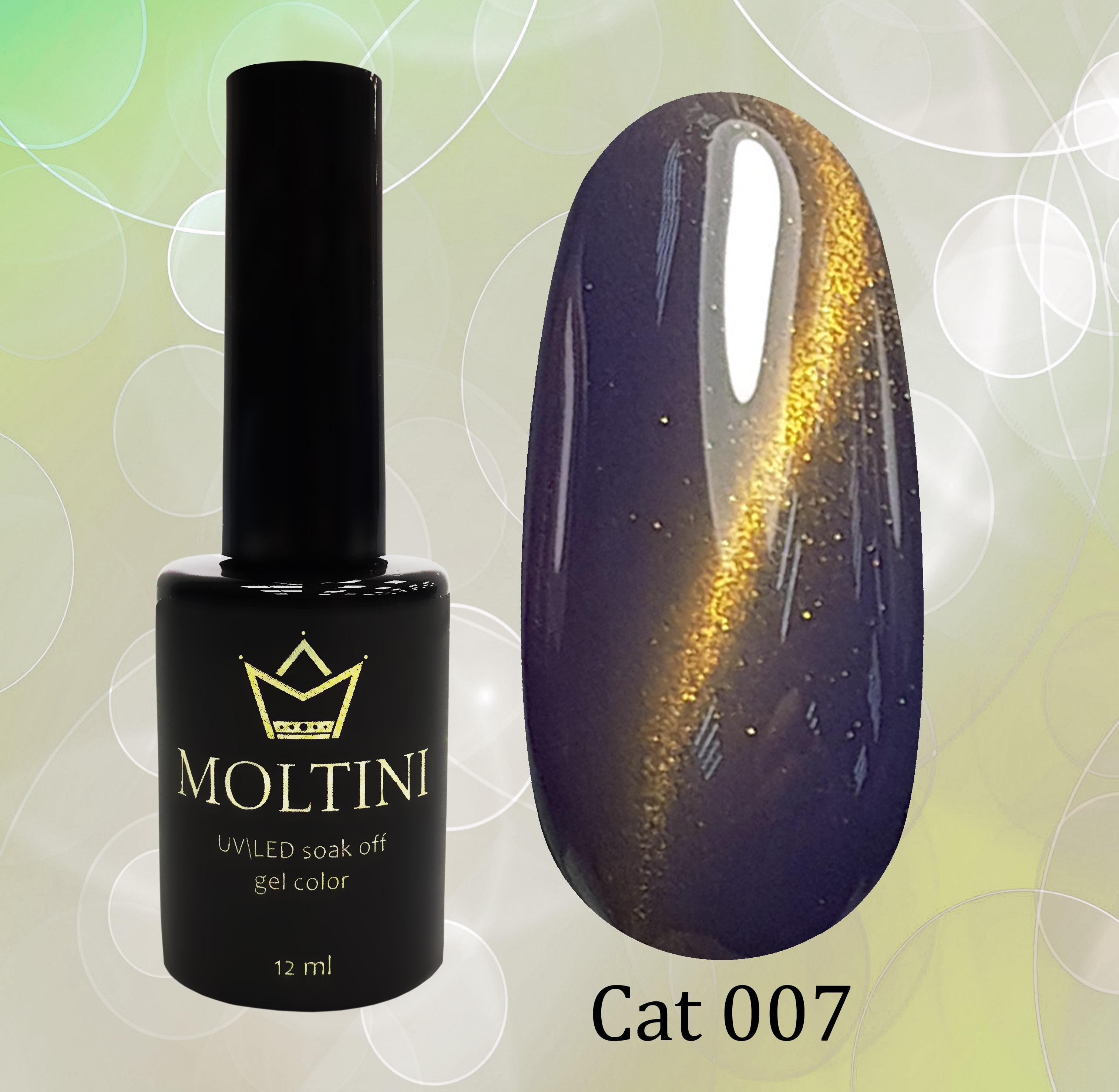 Гель-лак Moltini Cat Eye 007