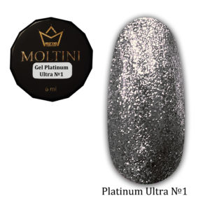 Гель-лак Moltini Platinum Ultra 01, 6 ml