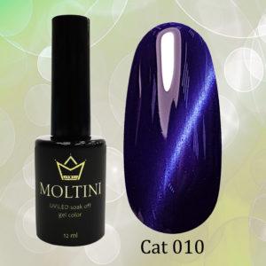 Гель-лак Moltini Cat Eye 010, 12 ml