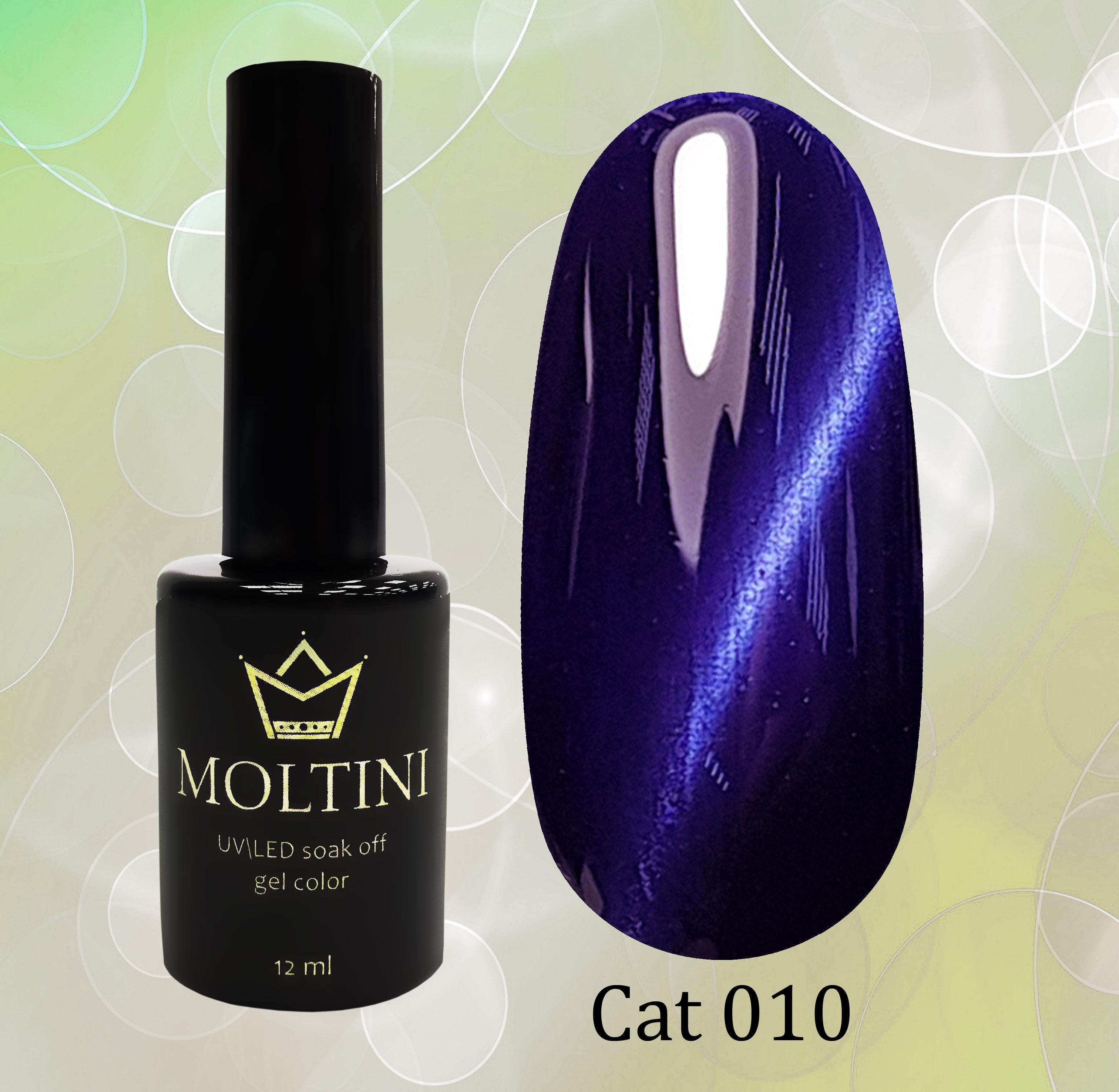 Гель-лак Moltini Cat Eye 010