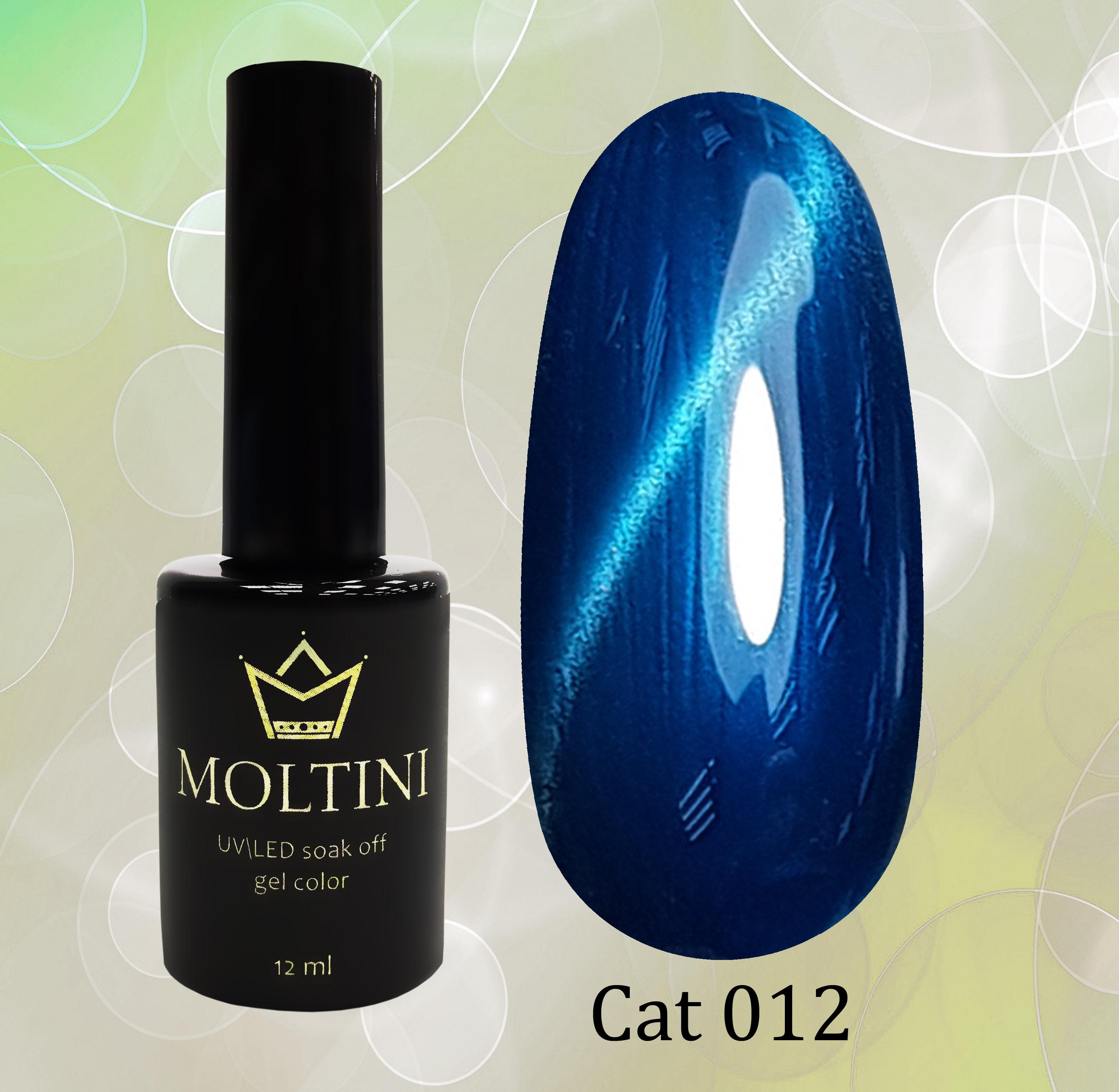 Гель-лак Moltini Cat Eye 012