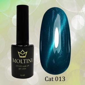 Гель-лак Moltini Cat Eye 013, 12 ml