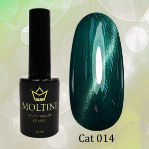 Гель-лак Moltini Cat Eye 014, 12 ml