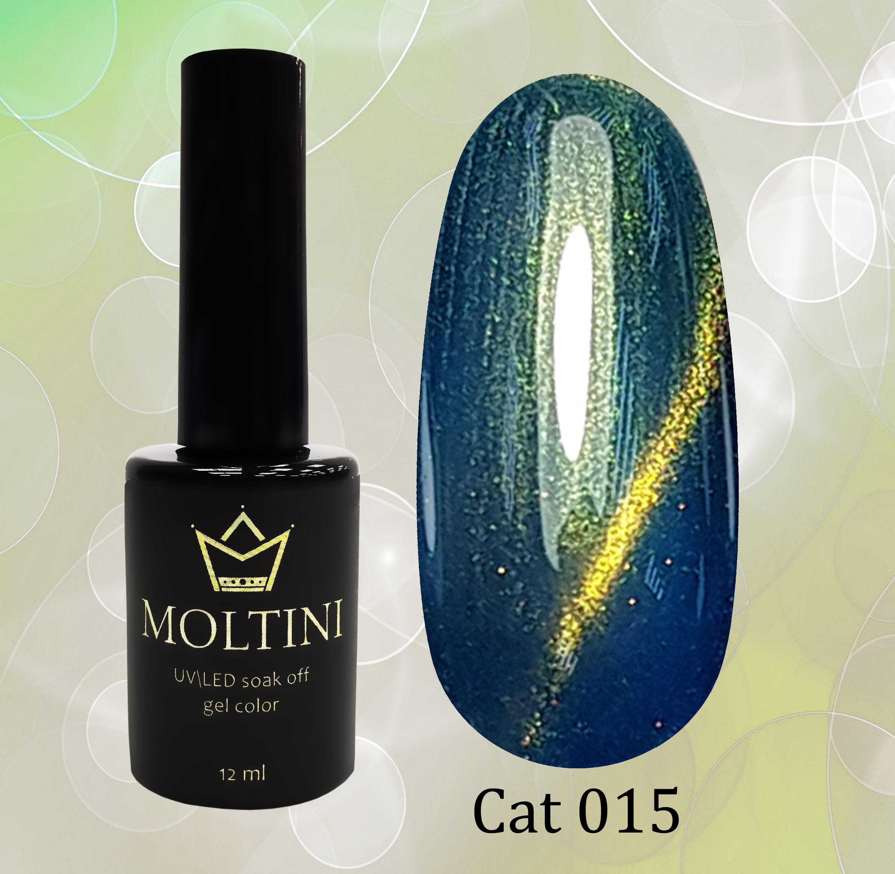Гель-лак Moltini Cat Eye 015