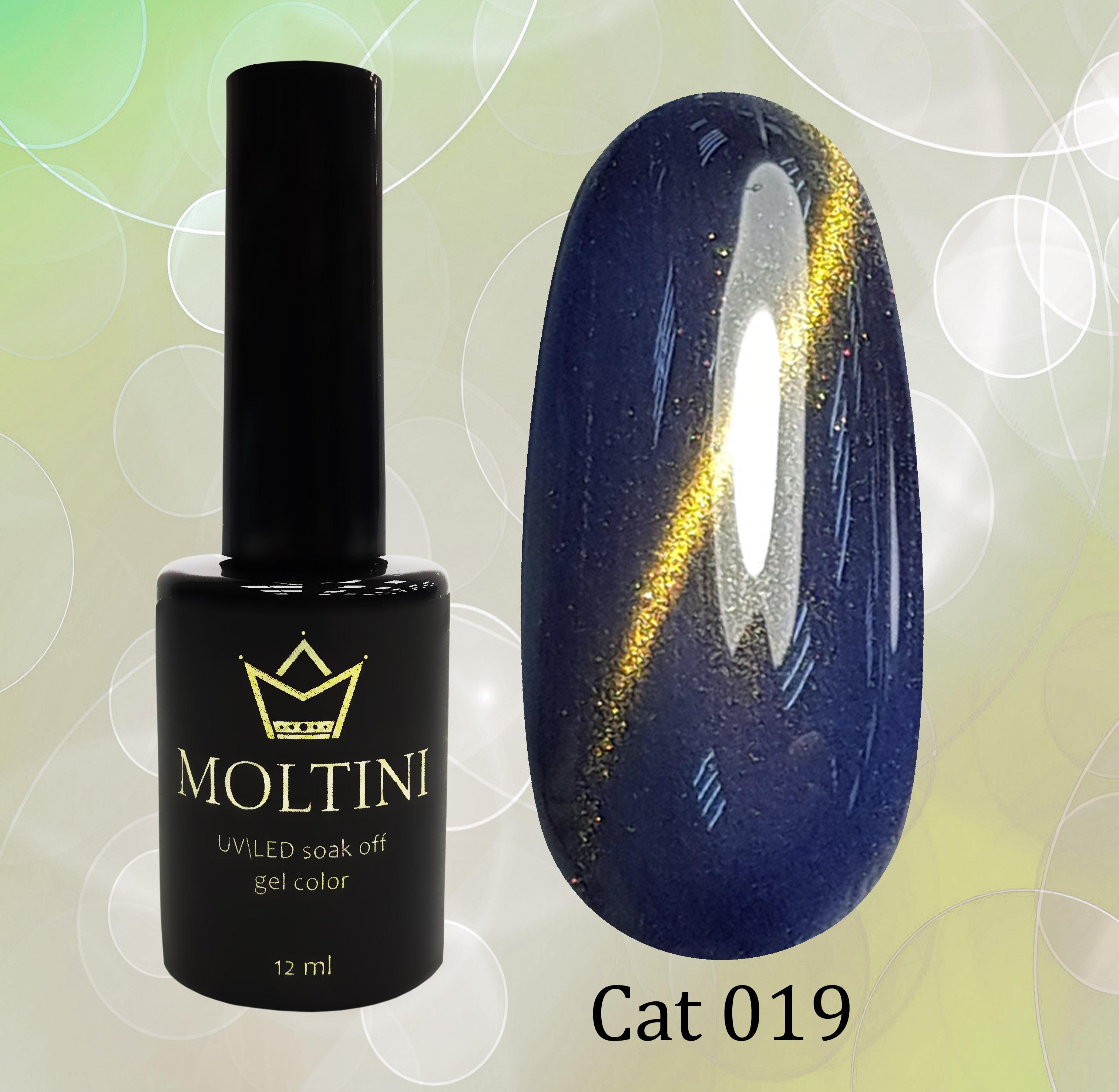 Гель-лак Moltini Cat Eye 019