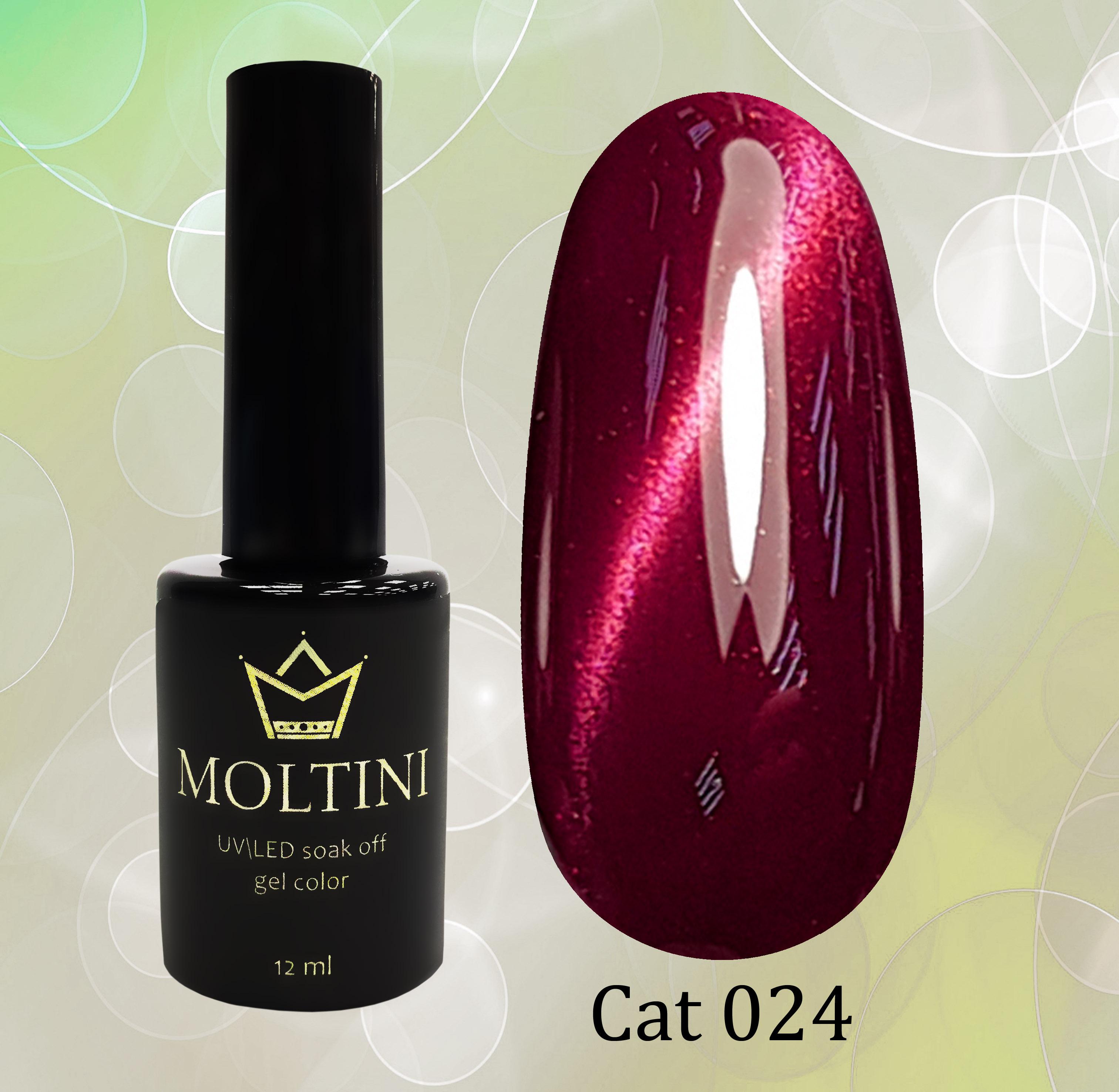 Гель-лак Moltini Cat Eye 024