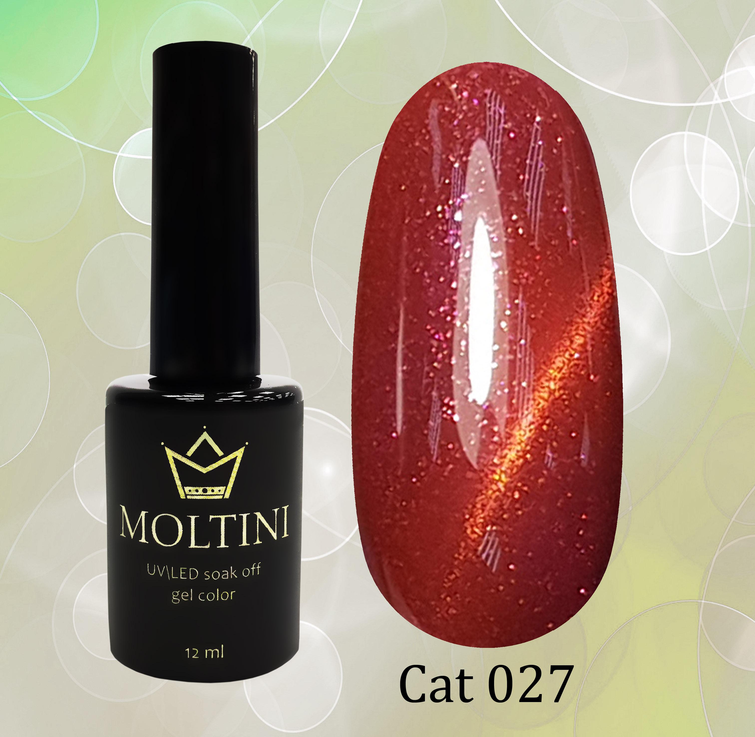 Гель-лак Moltini Cat Eye 027