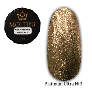 Гель-лак Moltini Platinum Ultra 03, 6 ml