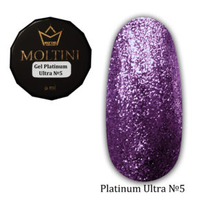 Гель-лак Moltini Platinum Ultra 05, 6 ml