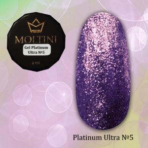 Гель-лак Moltini Platinum Ultra 05, 6 ml