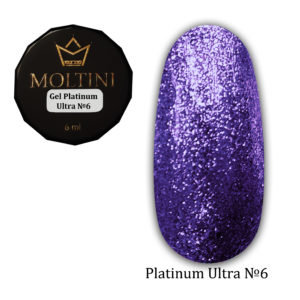 Гель-лак Moltini Platinum Ultra 06, 6 ml