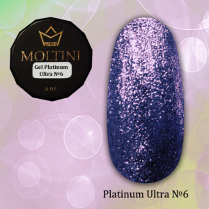 Гель-лак Moltini Platinum Ultra 06, 6 ml
