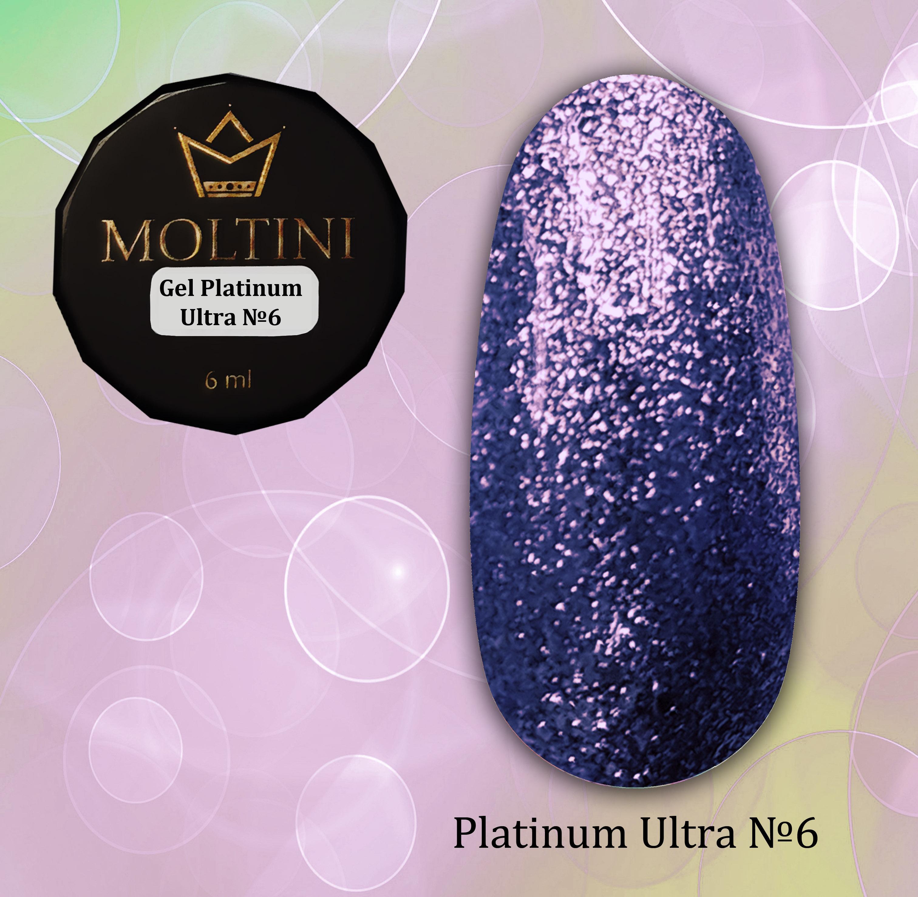 Гель-лак Moltini Platinum Ultra 06