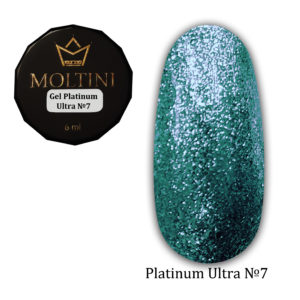 Гель-лак Moltini Platinum Ultra 07, 6 ml