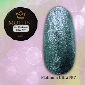 Гель-лак Moltini Platinum Ultra 07, 6 ml