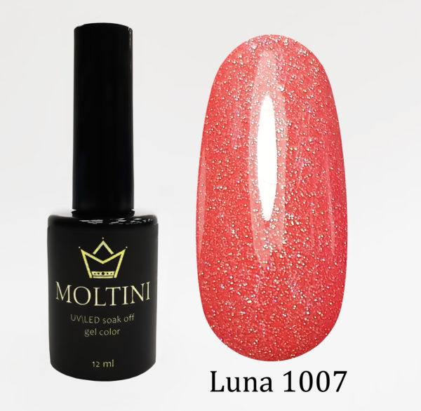 Гель-лак Moltini Luna 1007, 12 ml