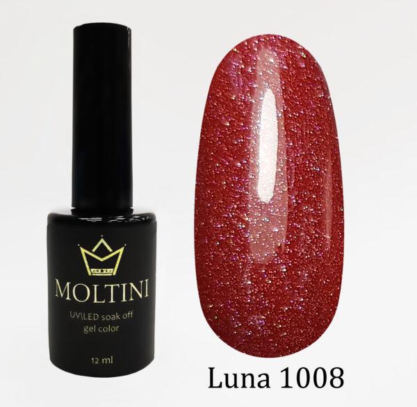 Гель-лак Moltini Luna 1008, 12 ml