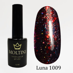 Гель-лак Moltini Luna 1009, 12 ml