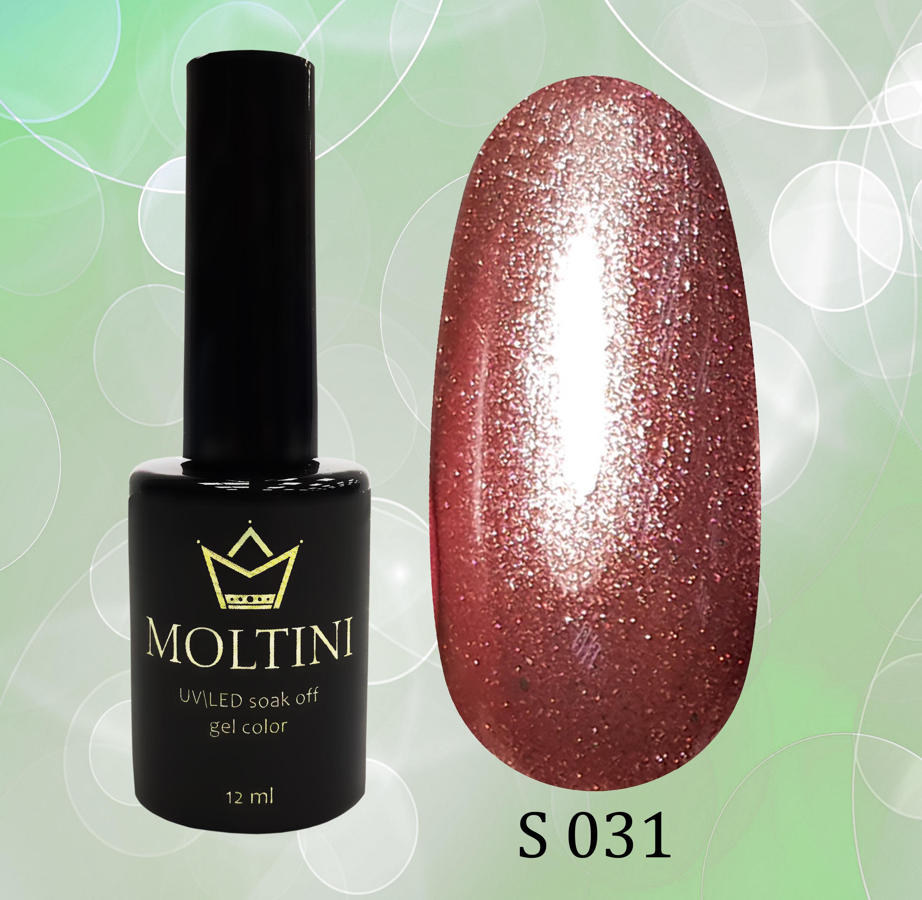 Гель-лак Moltini Shine 031