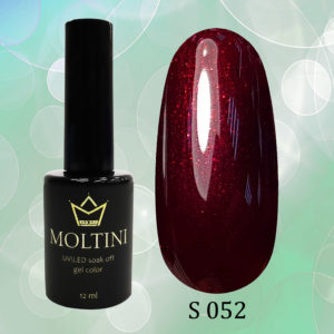 Гель-лак Moltini Shine 052, 12 ml
