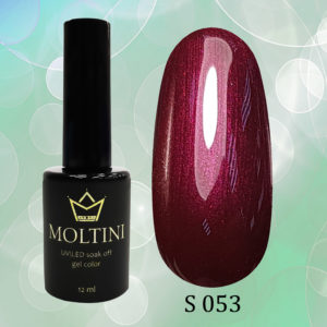 Гель-лак Moltini Shine 053, 12 ml