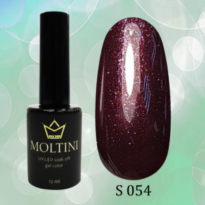 Гель-лак Moltini Shine 054, 12 ml