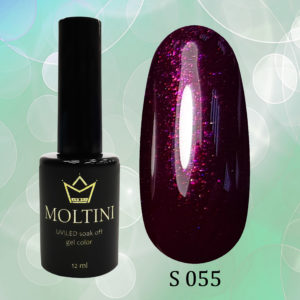 Гель-лак Moltini Shine 055, 12 ml