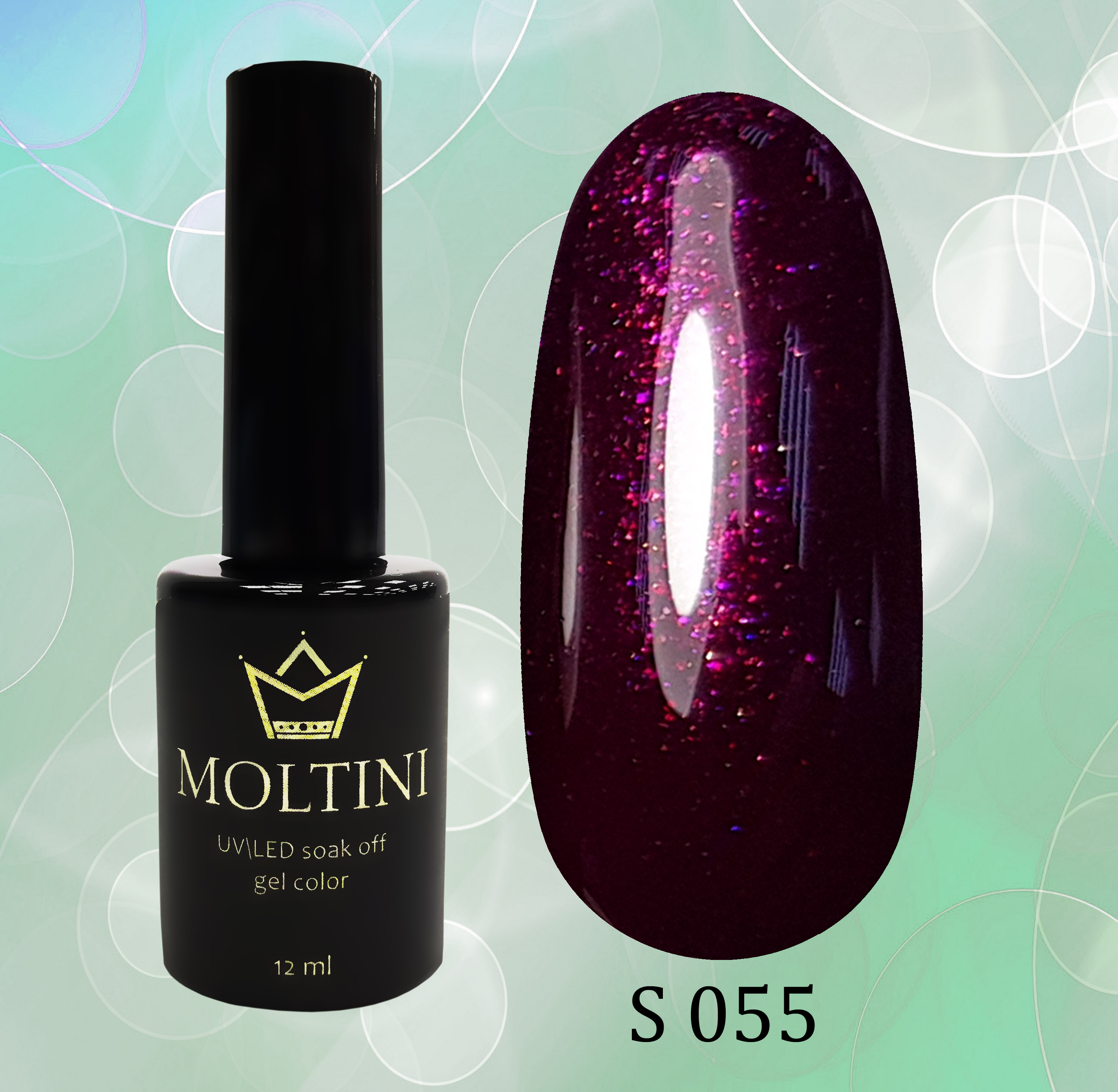 Гель-лак Moltini Shine 055