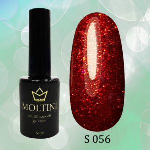 Гель-лак Moltini Shine 056, 12 ml
