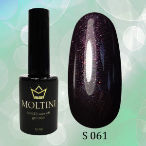 Гель-лак Moltini Shine 061, 12 ml