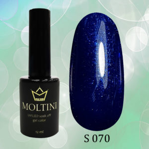 Гель-лак Moltini Shine 070, 12 ml