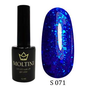 Гель-лак Moltini Shine 071, 12 ml