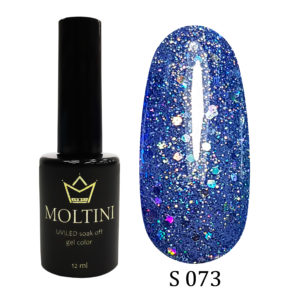Гель-лак Moltini Shine 073, 12 ml