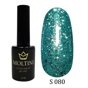 Гель-лак Moltini Shine 080, 12 ml