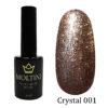 Гель-лак Moltini Crystal 001, 12 ml