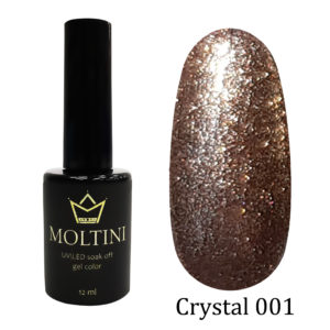 Гель-лак Moltini Crystal 001, 12 ml