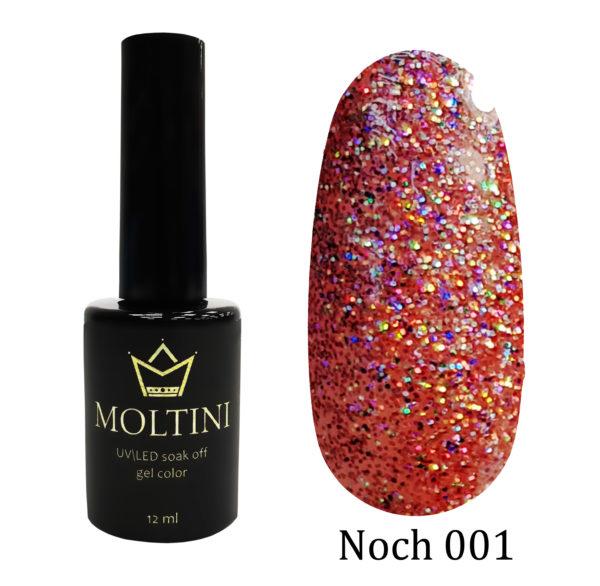Гель-лак Moltini Noch 001, 12 ml
