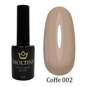 Гель-лак Moltini COFFE 002, 12 ml