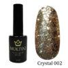 Гель-лак Moltini Crystal 002, 12 ml