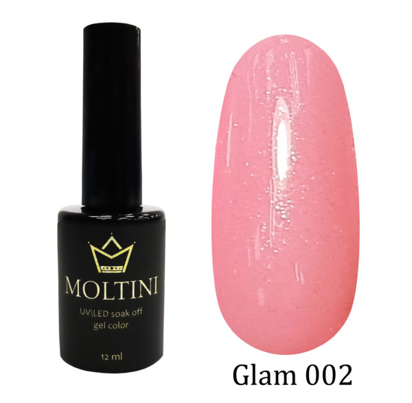 Гель-лак Moltini GLAM 002, 12 ml
