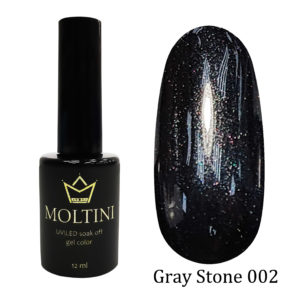 Гель-лак Moltini Gray Stone 002, 12 ml