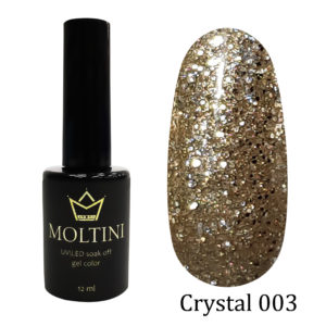 Гель-лак Moltini Crystal 003, 12 ml