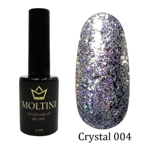 Гель-лак Moltini Crystal 004, 12 ml