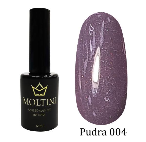 Гель-лак Moltini Pudra 004, 12 ml
