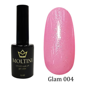 Гель-лак Moltini GLAM 004, 12 ml