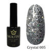 Гель-лак Moltini Crystal 005, 12 ml
